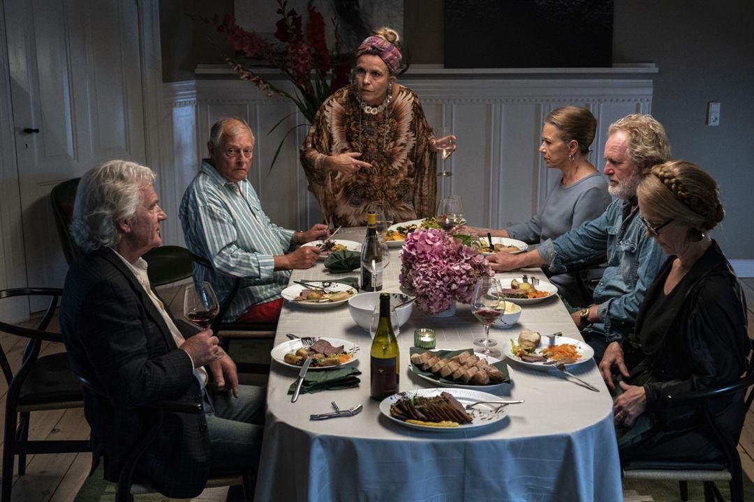 Happy Ending - 70 ist das neue 70 : Bild Birthe Neumann, Charlotte Sieling, Claus Flygare, Kurt Ravn, Marianne Høgsbro