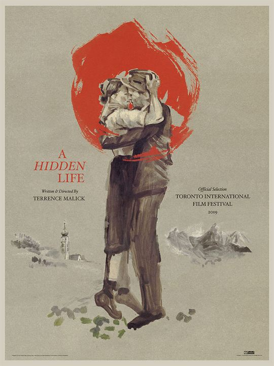 Ein verborgenes Leben : Kinoposter