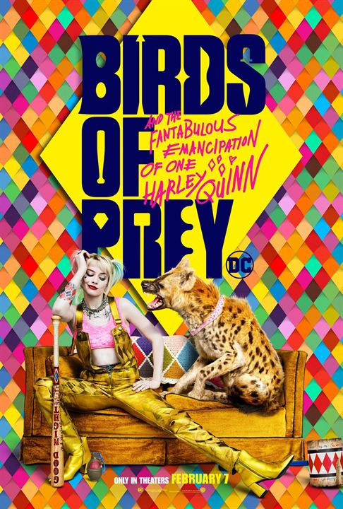 Birds Of Prey: The Emancipation Of Harley Quinn : Kinoposter