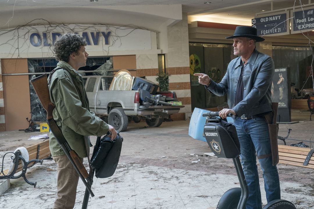 Zombieland 2: Doppelt hält besser : Bild Jesse Eisenberg, Woody Harrelson