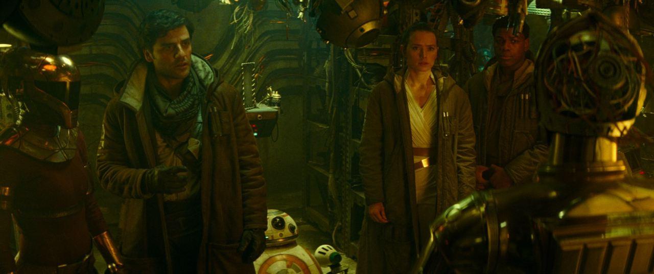 Star Wars 9: Der Aufstieg Skywalkers : Bild Daisy Ridley, John Boyega, Oscar Isaac