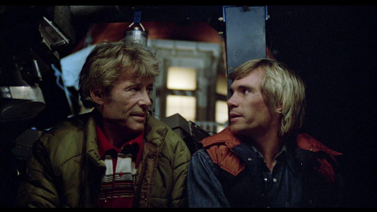 Der lange Tod des Stuntman Cameron : Bild Peter O'Toole, Steve Railsback