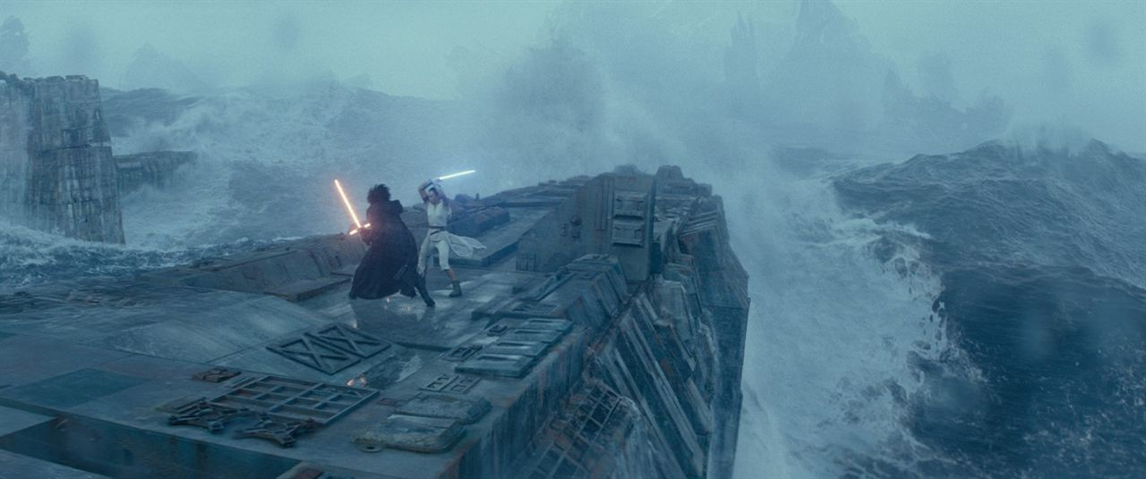 Star Wars 9: Der Aufstieg Skywalkers : Bild Adam Driver, Daisy Ridley