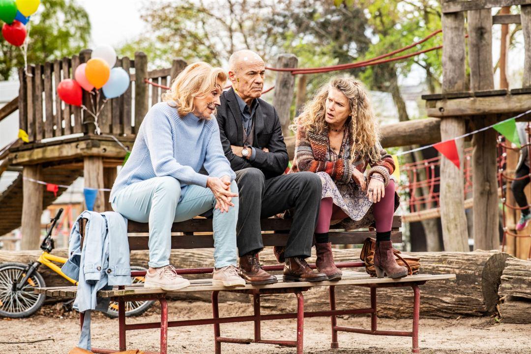 Enkel für Anfänger : Bild Barbara Sukowa, Heiner Lauterbach, Maren Kroymann