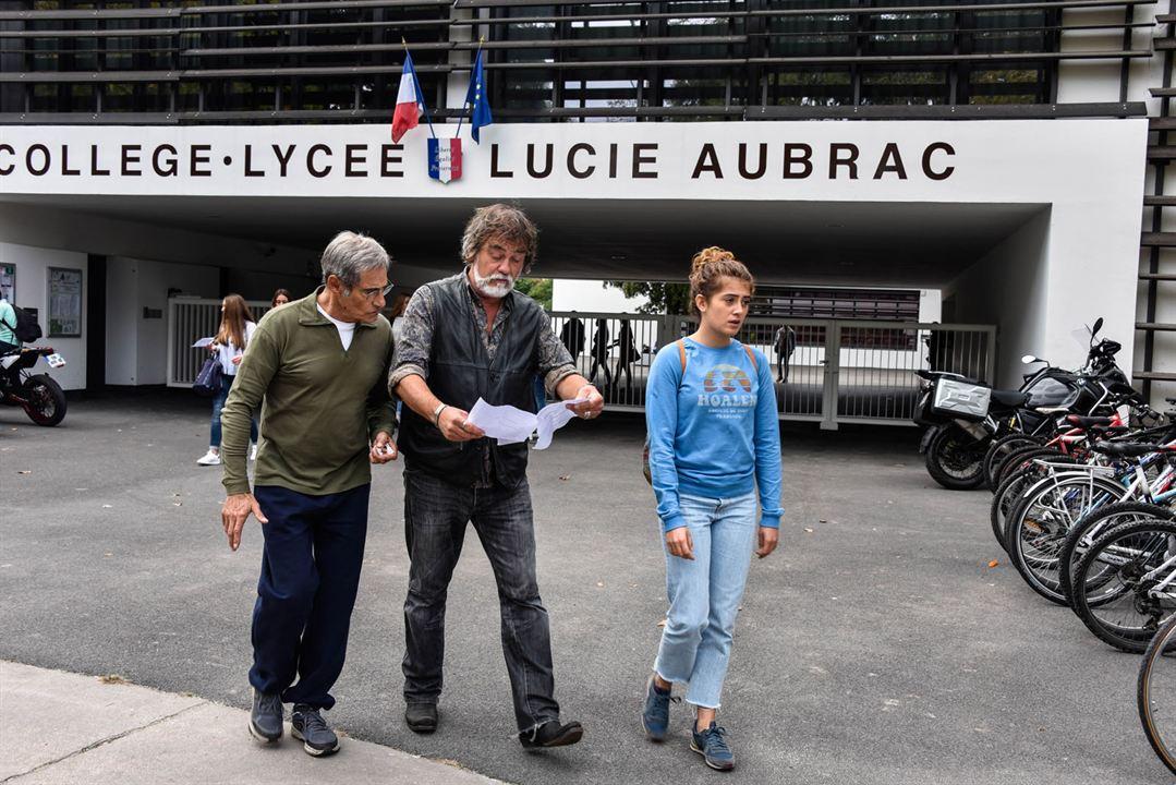 Papi-Sitter : Bild Camille Aguilar, Gérard Lanvin, Olivier Marchal