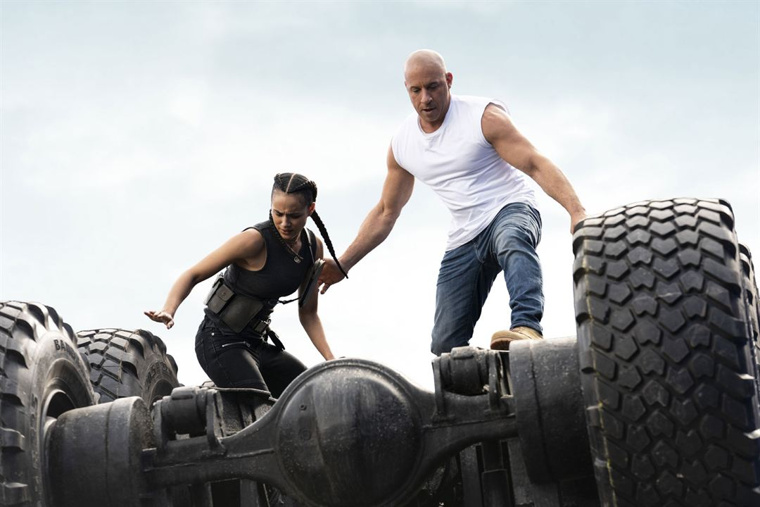 Fast & Furious 9 : Bild Nathalie Emmanuel, Vin Diesel
