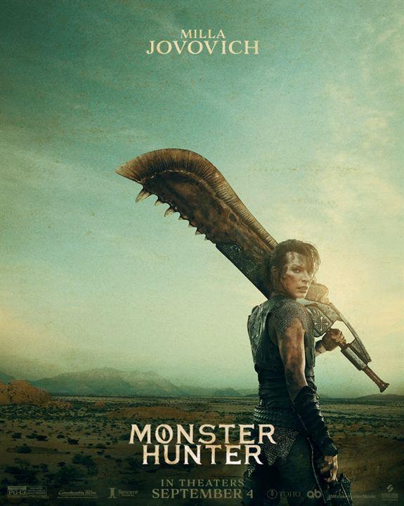 Monster Hunter : Kinoposter