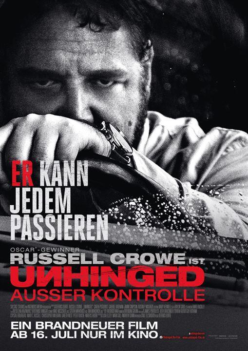 Unhinged - Ausser Kontrolle : Kinoposter