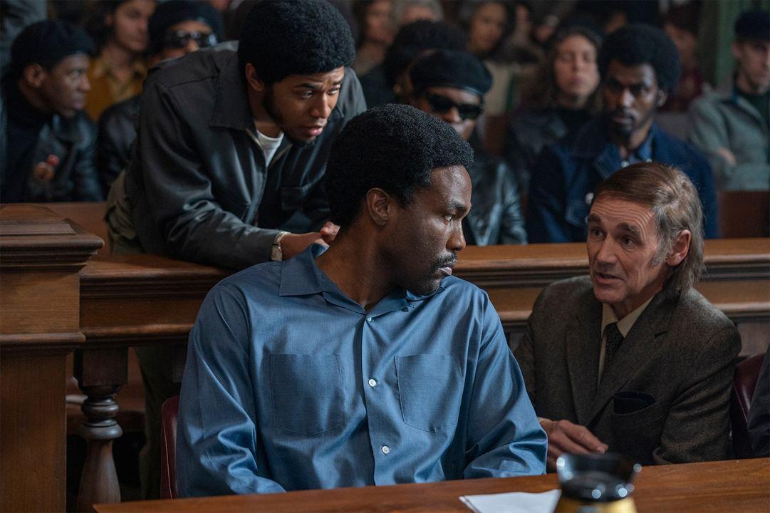 The Trial Of The Chicago 7 : Bild Kelvin Harrison Jr., Mark Rylance, Yahya Abdul-Mateen II