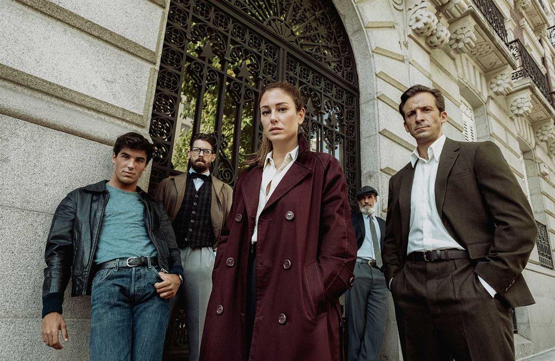 Bild Adrián Lastra, Blanca Suárez, Francesc Garrido, Iván Marcos, Oscar Casas