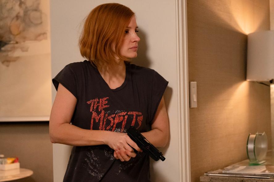 Code Ava - Trained To Kill : Bild Jessica Chastain