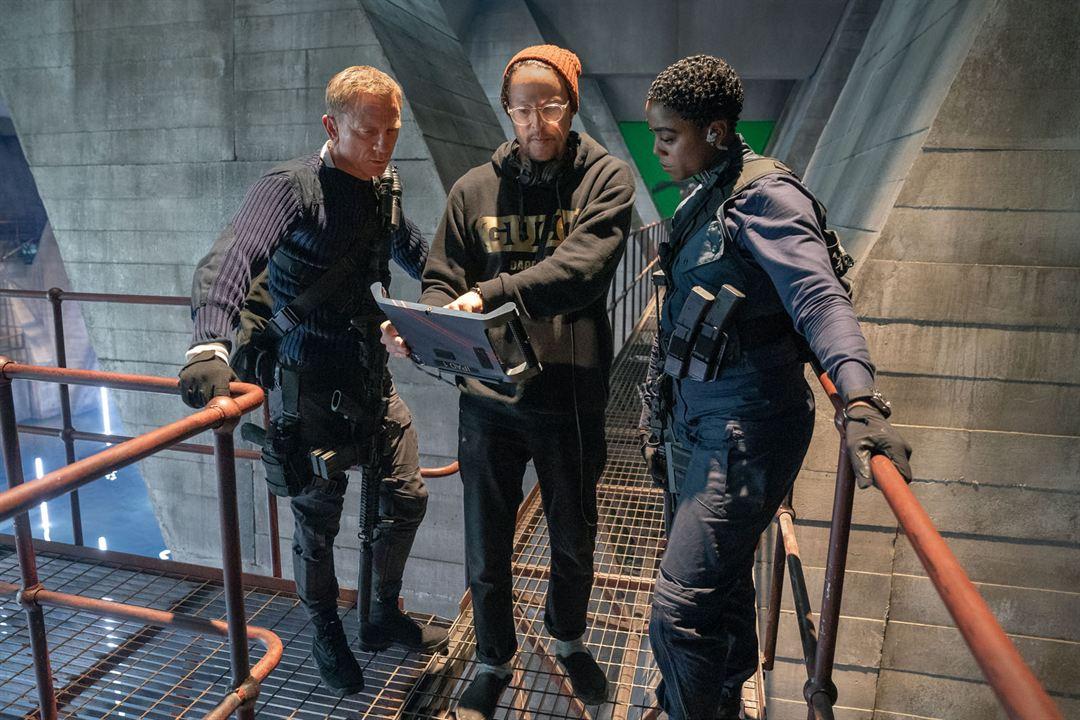 James Bond 007 - Keine Zeit zu sterben : Bild Cary Joji Fukunaga, Daniel Craig, Lashana Lynch