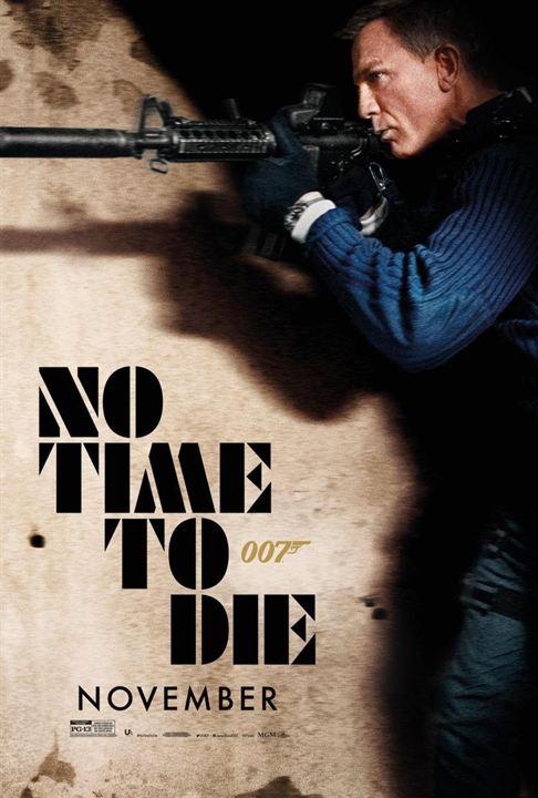 James Bond 007 - Keine Zeit zu sterben : Kinoposter