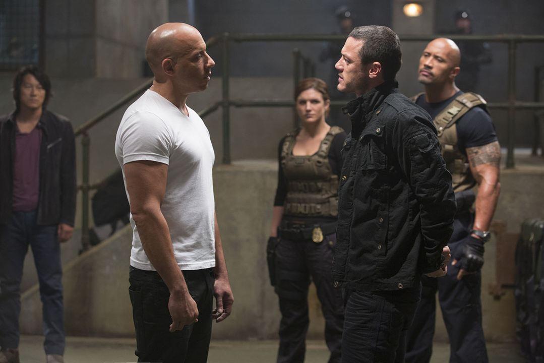 Fast & Furious 6 : Bild Dwayne Johnson, Gina Carano, Luke Evans, Sung Kang, Vin Diesel