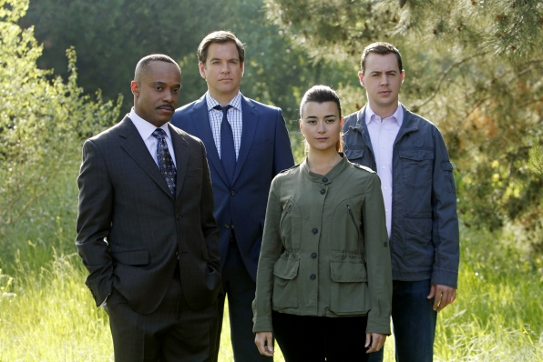 Bild Cote De Pablo, Michael Weatherly, Rocky Carroll, Sean Murray