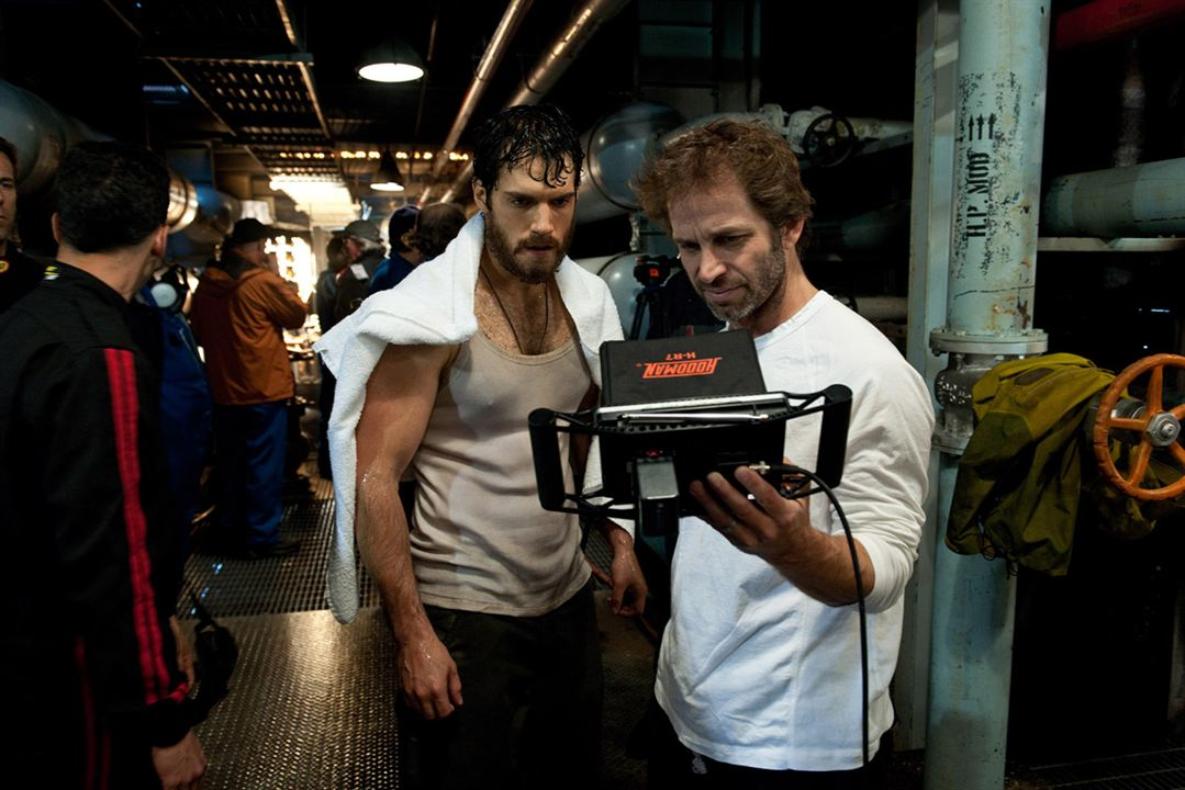 Man Of Steel : Bild Henry Cavill, Zack Snyder