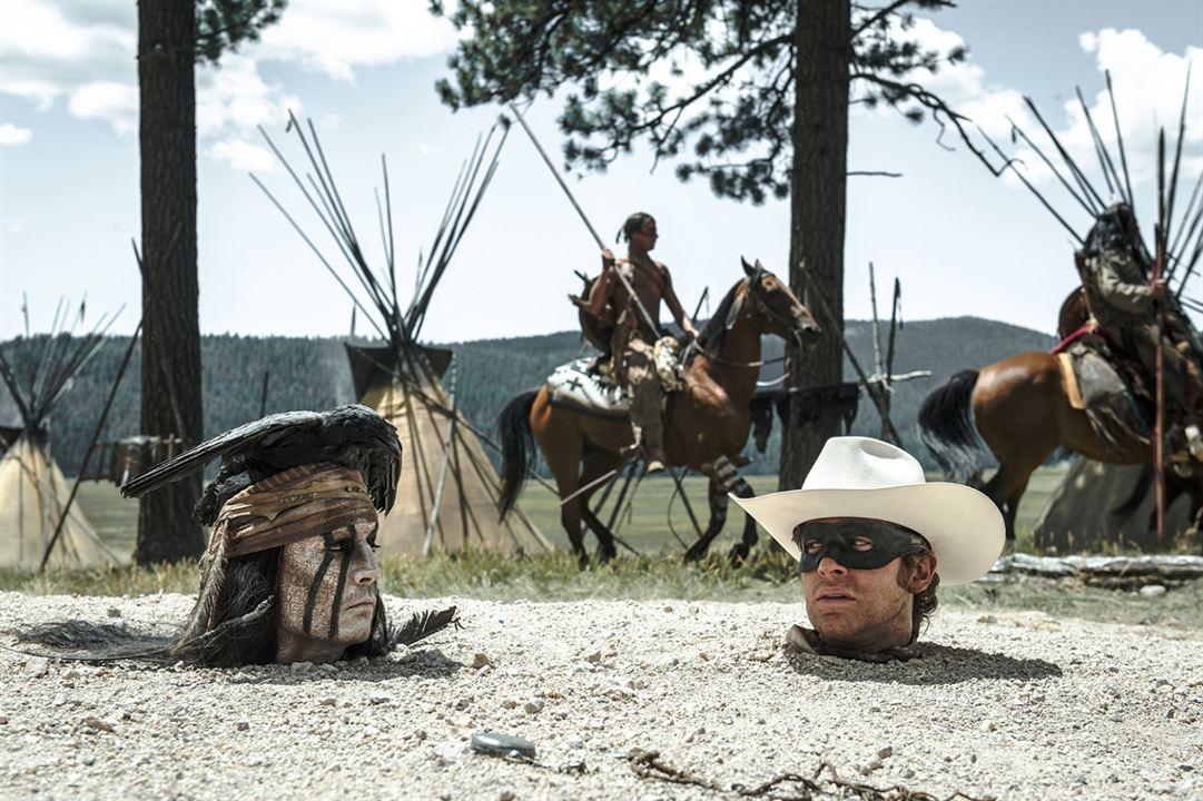 Lone Ranger : Bild Armie Hammer, Johnny Depp