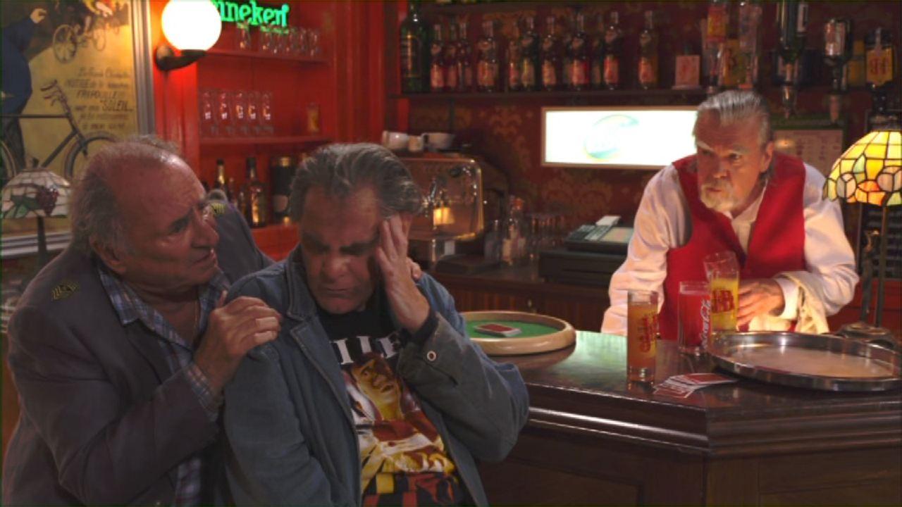 Le Renard Jaune : Bild Claude Brasseur, Michael Lonsdale