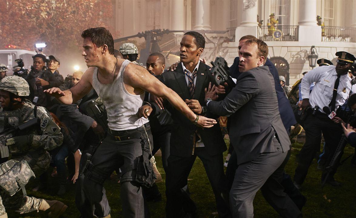 White House Down : Bild Channing Tatum, Jamie Foxx