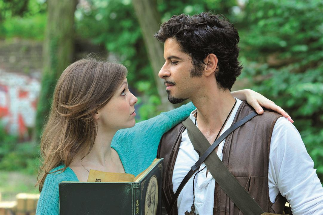 Robin Hood und ich : Bild Nadja Becker, Pasquale Aleardi