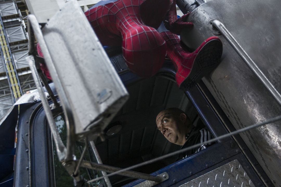 The Amazing Spider-Man 2: Rise Of Electro : Bild Andrew Garfield, Paul Giamatti