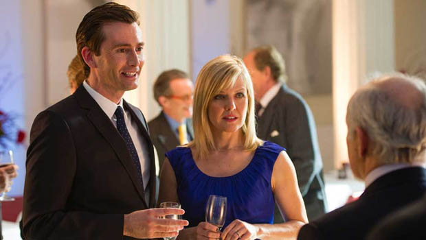 Bild Ashley Jensen, David Tennant