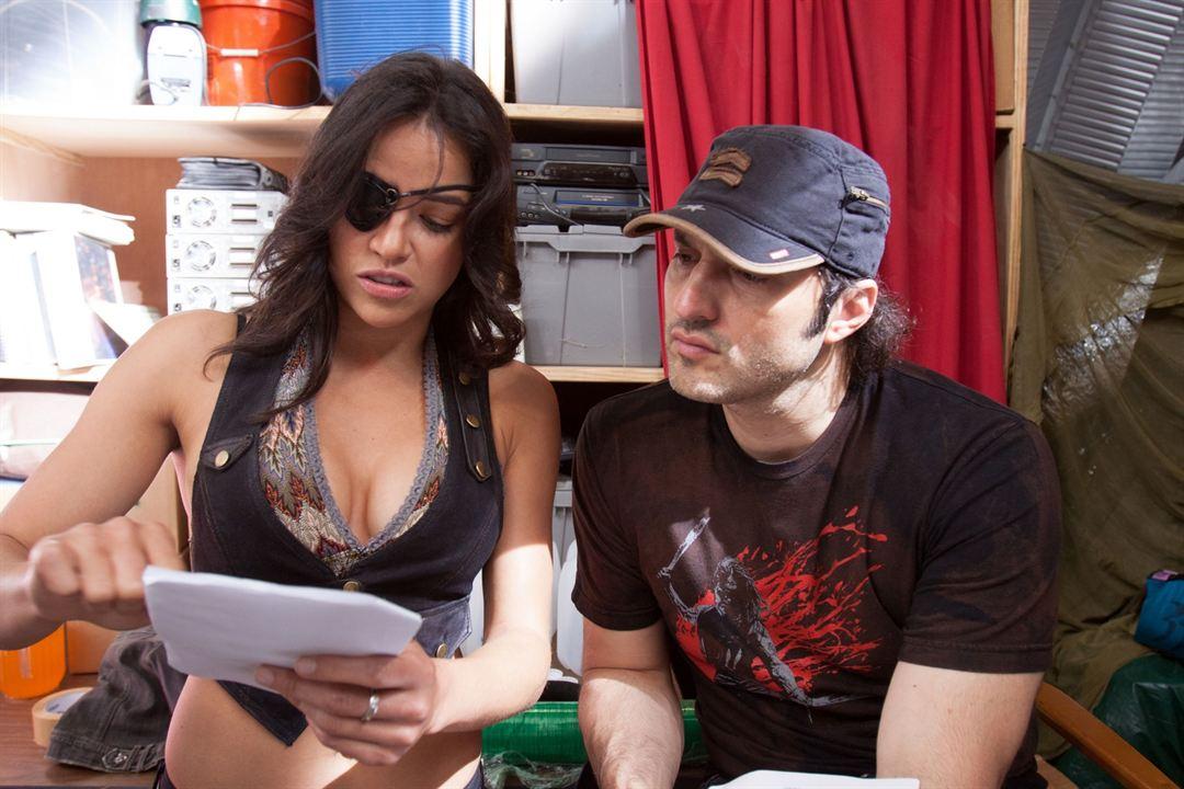 Machete 2: Machete Kills : Bild Michelle Rodriguez, Robert Rodriguez