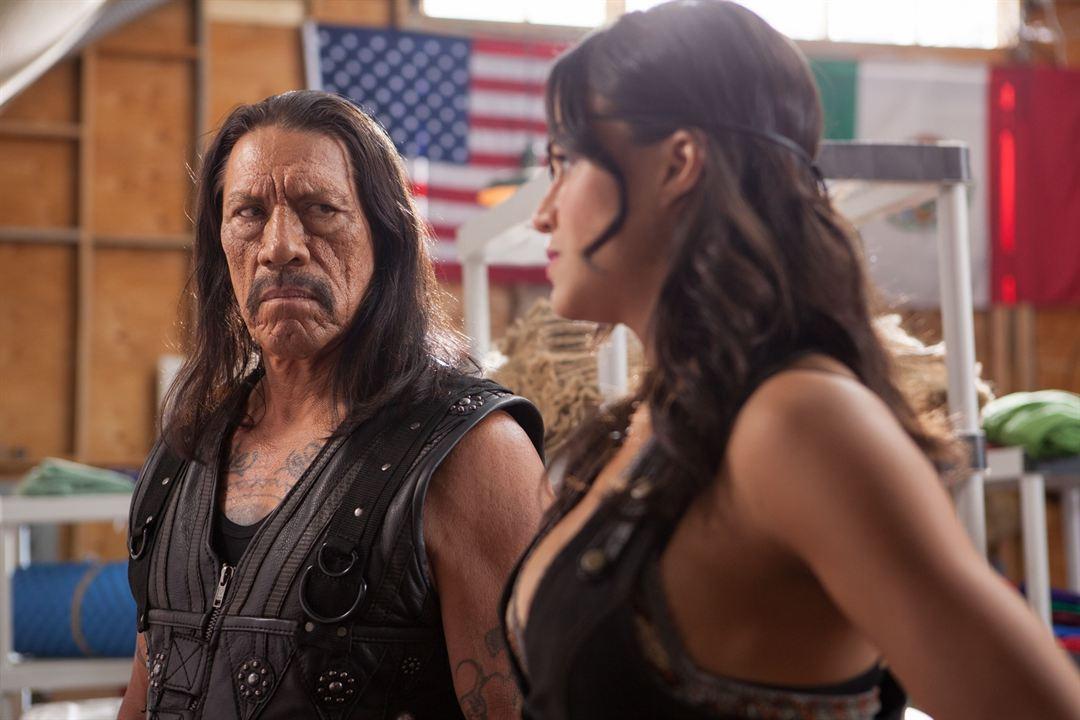 Machete 2: Machete Kills : Bild Danny Trejo, Michelle Rodriguez