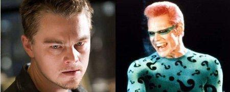 """The Dark Knight Rises"": Warner Bros. wollte Leonardo ...  Leonardo Dicaprio Riddler"