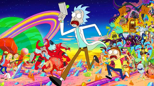 serien wie rick and morty