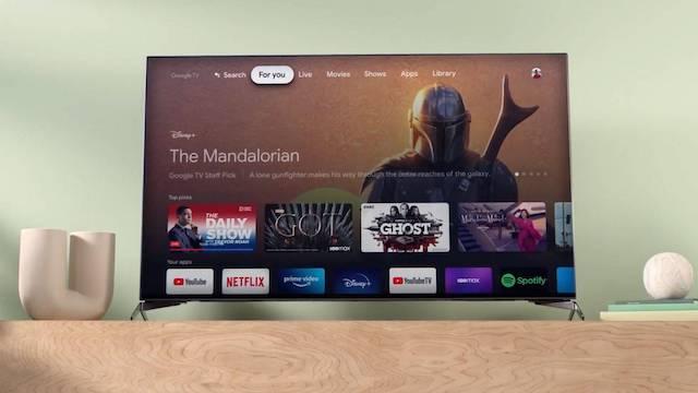 google chromecast mit google tv auswahl apps