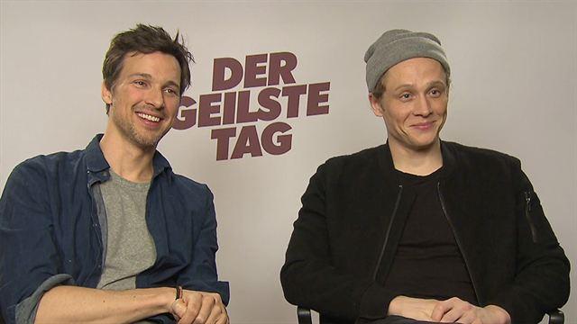 """FILMSTARTS-Interview zu """"Der geilste Tag"""" mit Matthias Schweighöfer und Florian David Fitz"""