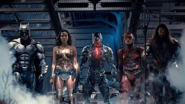 Justice League Trailer DF