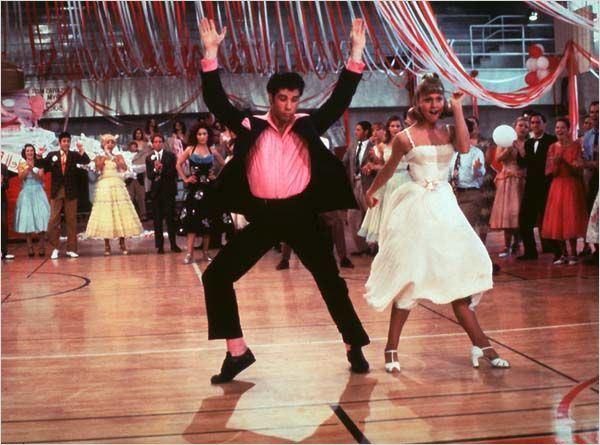 John Travolta y Olivia Newton Grease Grease Bild John Travolta