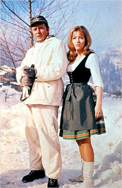Agenten sterben einsam : Bild Brian G. Hutton, Ingrid Pitt, Richard Burton