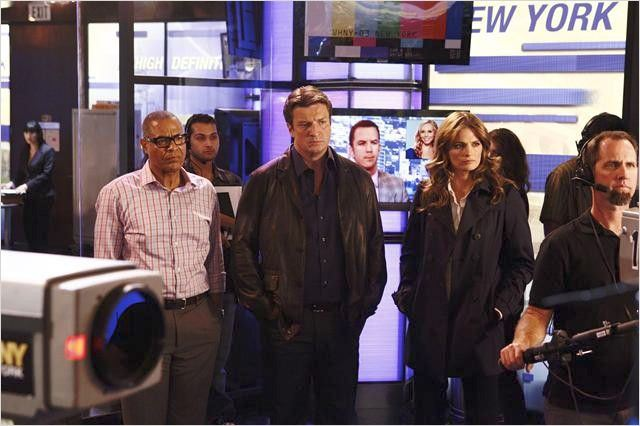 Tyrees Allen s Gallery Castle photo Nathan Fillion Stana Katic Tyrees Allen
