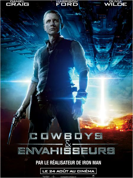 Cowboys &amp; Aliens : poster