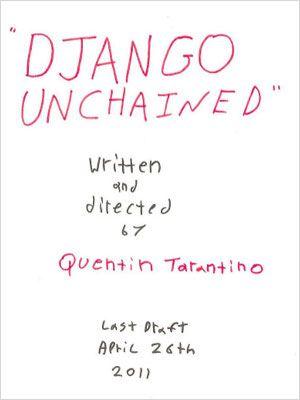 Django Unchained : Kinoposter