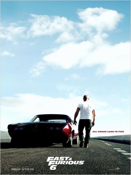 Fast & Furious 6 : Kinoposter