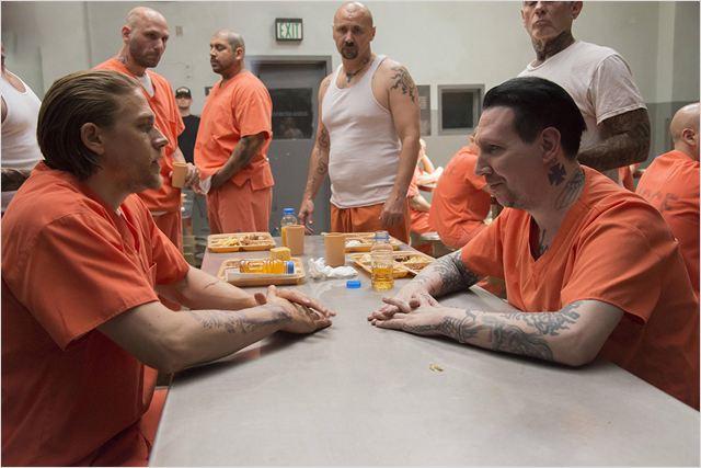 Bild Charlie Hunnam, Marilyn Manson