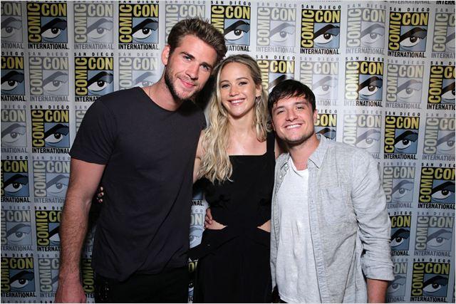 Mockingjay Teil 2 : Vignette (magazine) Jennifer Lawrence, Josh ...