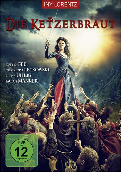 Die Ketzerbraut : Kinoposter