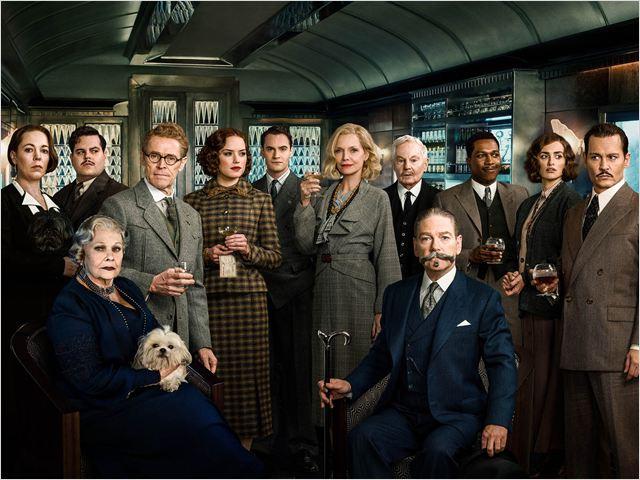 Mord im Orient-Express : Vignette (magazine) Daisy Ridley, Derek Jacobi, Johnny Depp, Josh Gad, Judi Dench