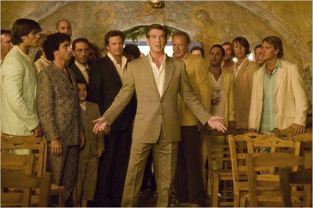 Mamma Mia! : Bild Colin Firth, Pierce Brosnan, Stellan Skarsgård
