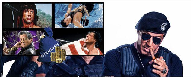 Die 10 erfolgreichsten Filme mit Sylvester Stallone