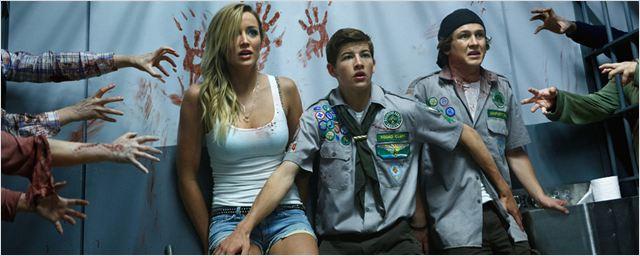 """Cooles Prank-Video zu """"Scouts v. Zombies"""": Wie ein Stripclub-Besuch zum Albtraum wird"""