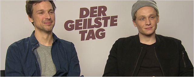 """Der Löwenbändiger-Grundschein: Das geilste FILMSTARTS-Interview zu """"Der geilste Tag"""" mit Matthias Schweighöfer und Florian David Fitz"""