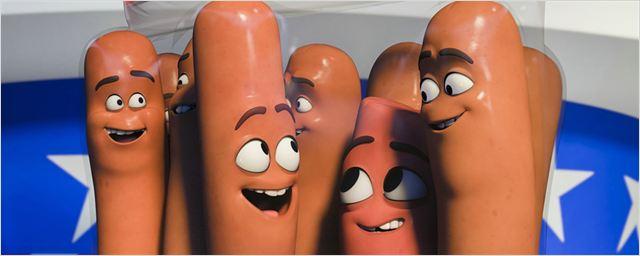 """Verliebte Würstchen: Neuer langer Trailer zur Animationskomödie """"Sausage Party"""" mit Seth Rogen"""