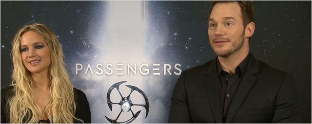 """""""Chris Pratts Optimismus nervt mich"""": Das FILMSTARTS-Interview zu """"Passengers"""" mit Jennifer Lawrence und Chris Pratt"""