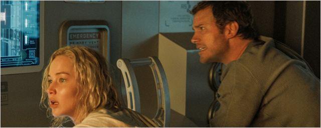 """Zum Totlachen: Jennifer Lawrence und Chris Pratt vergeigen den """"Passengers""""-Dreh im Outtake-Video"""